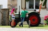 Traktor der Traktorenparade
