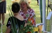 Gisela Klamann vom Handarbeitsverein Chorin