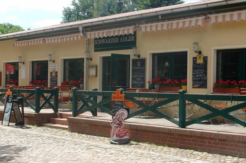 Gaststätte Schwarzer Adler in Brodowin