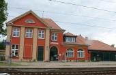 Bahnhof in Chorin