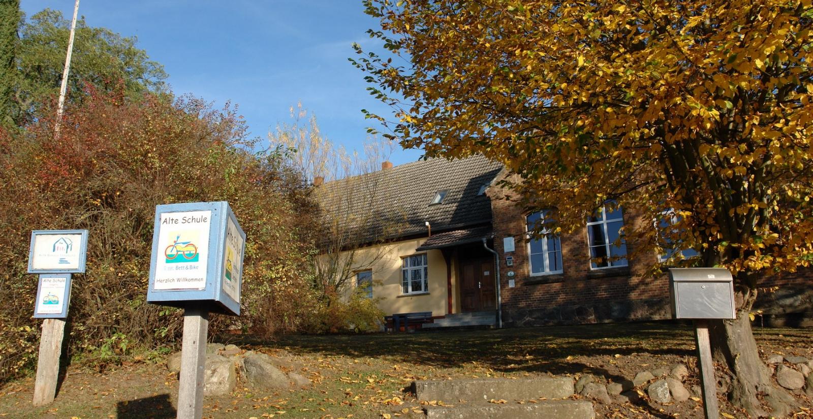 Alte Schule in Stegelitz