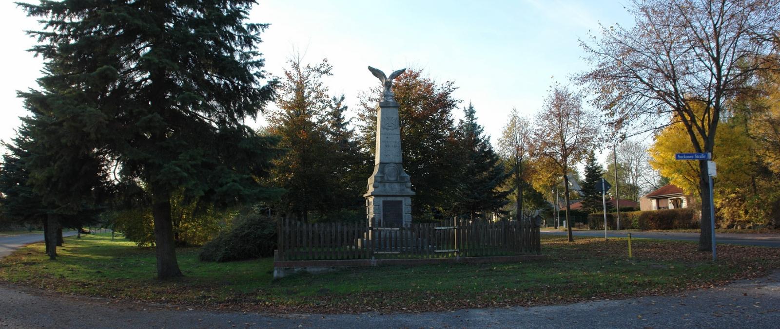 Kriegerdenkmal in Flieth