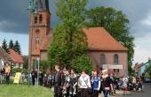 Jährliche Motorradmesse in Friedrichswalde