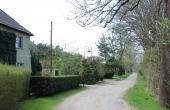 Hohenwalde, Blick ins kleine Dorf