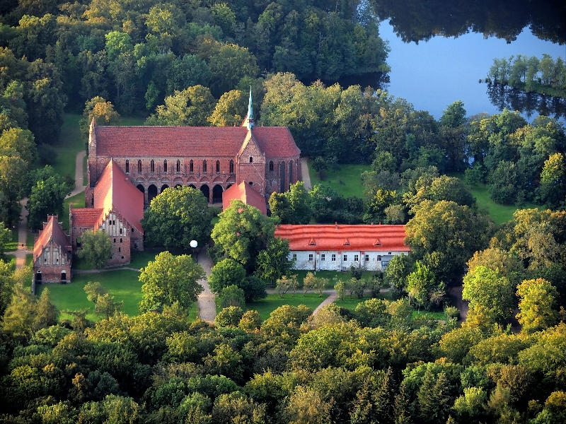 Kloster Chorin aus der Luft - Foto von Andre' Dombrowski