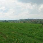 Hüglellandschaft mit Endmoränen um Pfingstberg und Stegelitz