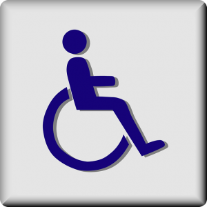 Rollstuhlfahrer, Barrierefreiheit in der Schorfheide Chorin