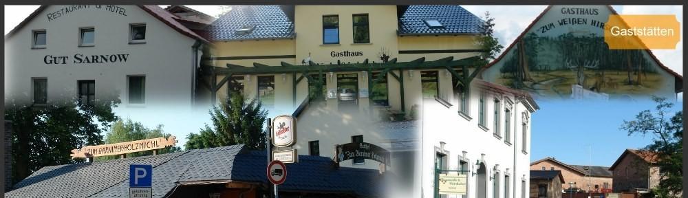 Gaststätten in der Schorfheide