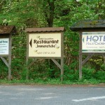 Restaurants und Hotels in Chorin