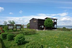 Naturbeobachtungspunkt am Grimnitzsee