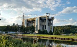 Das neue Schiffshebewerk in Niederfinow